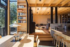 BOATSHEDS by Strachan group architects ltd