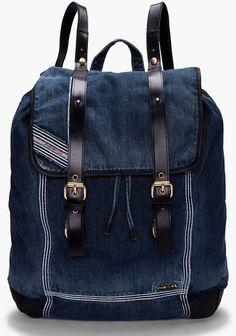 Diesel Denim Backyhob Backpack