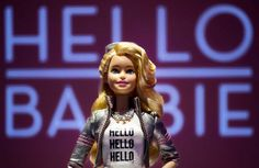 "Barbie was already creepy on so many different levels, but now Mattel has decided to add one more. The new ""Hello Barbie"" has voice recognition techno. Amy Schumer, New Dolls, Barbie Dolls, Mattel Barbie, Hello Barbie, Converse, Barnet, Creepy Dolls, Chucky"