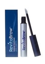 RevitaBrow Eyebrow Conditioner, 3.0 Ml / 0.101 Fl Oz. by RevitaBrow. $59.40. RevitaBrow Eyebrow Conditioner beautifies eyebrows that are sparse or damaged from years of over tweezing and waxing, or have thinned due to the aging process. Developed by an ophthalmologist, RevitaBrow is a cosmetic eyebrow conditioner that combines a unique set of functional cosmetic ingredients to enhance the attractiveness and beauty of your natural eyebrows.  It utilizes the power of pep...