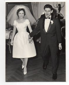 Vintage Photo Arrogant Groom Pretty Bride Wedding 1960's Nov | eBay