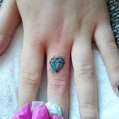 Diamond tattoo- like this for my toe