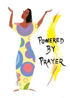 Powered by Prayer: Cidne Wallace Magnet