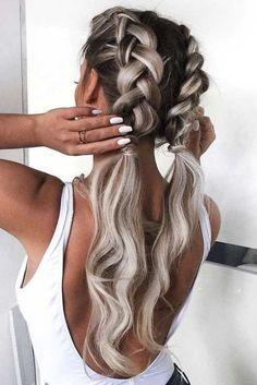 Best Elegant French Braid Hairstyles Best Elegant French Braid Hairstyles Related Best Braided Hairstyles for WomenBeautiful Braid Hairstyles That'll Liven Up Your Hair Routine▷ 1001 + inspirierende Ideen für einfache Flechtfrisuren. French Braid Hairstyles, Long Hairstyles, Wedding Hairstyles, Pretty Hairstyles, Hairstyle Braid, Cute Hairstyles With Braids, Cute Hairstyles For Medium Hair, 1950s Hairstyles, Bohemian Hairstyles