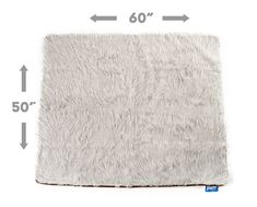 Keep your home clean with ultra soft covers, from the couch to your bed, with the grey PupProtector™ - A waterproof luxury pet throw made from high-quality, machine washable faux-fur. White Throw Blanket, Dog Throw, Dog Blanket, Orthopedic Dog Bed, Back Seat, Dog Love, Memory Foam, Your Pet, Patent Pending