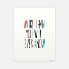 Will Ever Know Print Scotty Albrecht   $14.00 now featured on Fab.