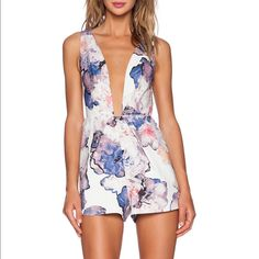 Finders Keepers Floral Playsuit