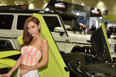 자동이체 CMS 010-5920-1202: Seoul Auto Salon racing models sexy beautiful coll...