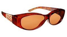 A great gift for Mom on Mother's Day! Solar Shield 'fits over' sunglasses