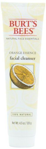 Burt's Bees Orange Essence Facial Cleanser, 4.3 Ounces by Burt's Bees, http://www.amazon.com/dp/B00012NJZA/ref=cm_sw_r_pi_dp_.777rb0VT8HR4