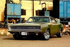 '68 Charger w cragars wheels