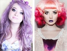 Colored hair by SugarBomb