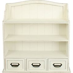 Distressed Wood Cabinet with Shelves and Drawers Distressed White Home Office Collection http://www.amazon.com/dp/B00SHXCCK8/ref=cm_sw_r_pi_dp_K7QVub09VZ20M