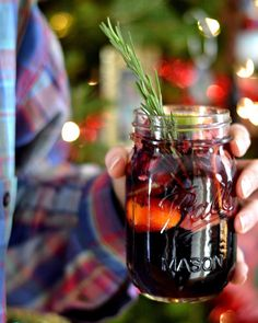 It's 5 o'clock somewhere! Celebrate #NationalSangriaDay by trying out this Winter Sangria recipe by #foodblogger Bakeaholic Mama. What's your secret ingredient to the BEST sangria?