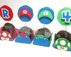Kit para Docinhos Mario Bros