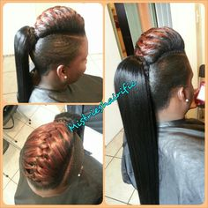 Ponytail Hairstyles With Hump Black Hair Updo Hairstyles, Braided Ponytail Hairstyles, Ponytail Styles, Sleek Ponytail, My Hairstyle, Weave Ponytail, Black Girls Hairstyles, Pretty Hairstyles, Hairstyle Ideas