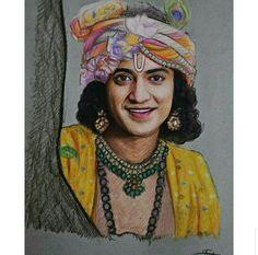 Radha Krishna Sketch, Krishna Drawing, Lord Krishna Images, Radha Krishna Pictures, Radha Krishna Photo, Krishna Photos, Krishna Art, Shree Krishna, Girl Drawing Sketches