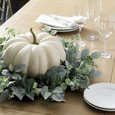 Where to buy a Pumpkin Planter Filler? Discover stylish Holiday decorations at Ballard Designs and find the perfect new Pumpkin Planter Filler you're searching for! Autumn Decorating, Pumpkin Decorating, Decorating Ideas, Decorating With White Pumpkins, Fall Home Decor, Autumn Home, Rustic Fall Decor, Thanksgiving Decorations, Seasonal Decor