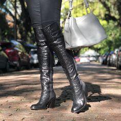 3fa5bf23a2 Bota Over The Knee Python Soho Preto - Cavage