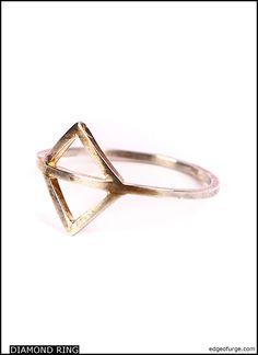 I LIKE IT HERE CLUB Diamond Ring | Edge of Urge
