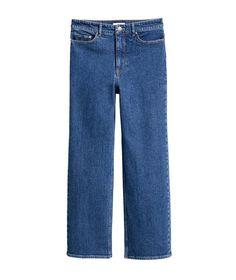Pin for Later: The Top 8 Denim Trends to Know This Spring  H&M Cropped High Waisted Jeans ($50)