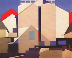 Two Against White by Charles Sheeler