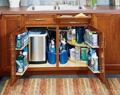 hooks on inside cabinets for cleaning products - Yahoo Image Search Results