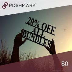 20% OFF ALL BUNDLES!!! BUY MORE AND SAVE! Other