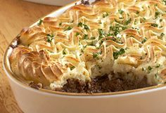 Prince William's Favorite Cottage Pie -According to former royal chef Darren McGrady, this cottage (shepherd) pie is Prince William's all-time favorite entrée