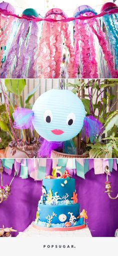 This 5 Year Olds Mermaid Birthday Party Is What Little Kid Dreams Are Made Of