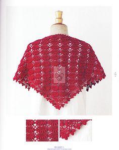 REGINA ARTS IN TEXTILE CROCHE: shawls CROCHE