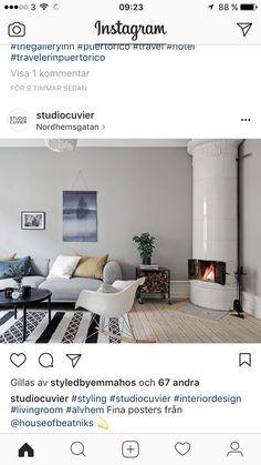 Fin färg på väggen