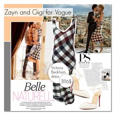 """Zayn and Gigi for Vogue"" by vanjazivadinovic ❤ liked on Polyvore featuring Victoria Beckham, Christian Louboutin, zayn, polyvoreeditorial, Poyvore and gigihadid"