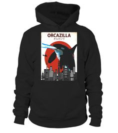 """# Orcazilla Japanese Orca T-Shirt 