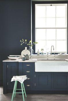 Bleu dans la déco : osez la peinture bleue - Côté Maison