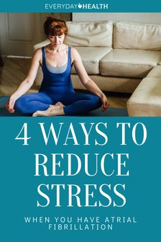 Keeping your #stress levels down is an essential part of treating #afib.