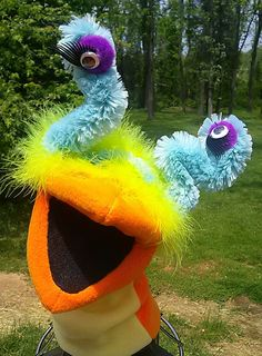 Funky the alien hand puppet