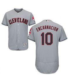 c0daf3c56 Indians Jose Ramirez Grey Flexbase Authentic Collection 2016 World Series  Bound Stitched MLB Jersey