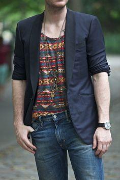 Dress to express, not to impress -  men's bohemian style, men's bohemian fashion