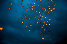 i have a huge thing for sky lanterns