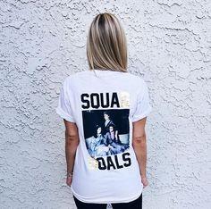 DG Gold Foil Squad Goals | Delta Gamma | Recruitment | Bid Day Shirts | Sorority Apparel