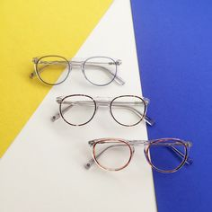 27eca29d253 The eye-popping inner rings of acetate are applied to Haskell in three  spirited new huesshop now via the link ...