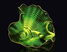 Chihuly-inspired melted plastic sculptures done with a toaster oven.