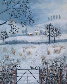 Winter Fields by Josephine Grundy