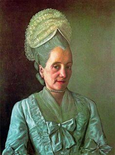 green - Portrait of Suzanne Navilledes - Jean–Étienne Liotard
