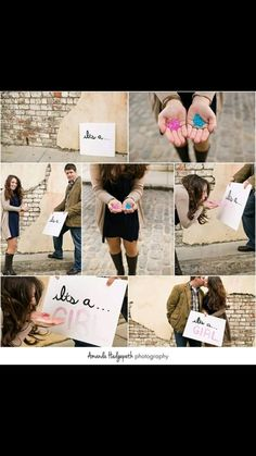 The cutest gender reveal ideas Twin Gender Reveal, Gender Reveal Announcement, Gender Reveal Photos, Pregnancy Gender Reveal, Gender Announcements, Baby Gender Reveal Party, Gender Party, Unique Gender Reveal Ideas, Gender Reveal Photography