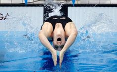 United States' Missy Franklin competes in a women's 200-meter backstroke swimming heat at the Aquatics Centre in the Olympic Park during the 2012 Summer Olympics in London, Thursday, Aug. 2, 2012.