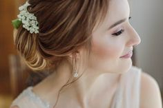 Bridal Make-up by Flavia Silaghi - Stefan Fekete Photography Destination Weddings in Greece and Europe Blush Pink Wedding Dress, Blush Pink Weddings, Wedding Dresses, Autumn Wedding, Chic Wedding, Wedding Day, Bridal Hairdo, Bride Portrait, Greece Wedding