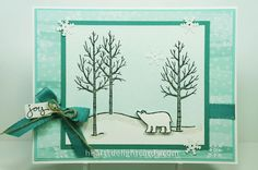 White Christmas Joy by Cards4Ever - Cards and Paper Crafts at Splitcoaststampers