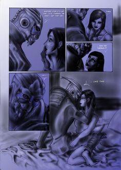 Turian kiss? page 2 by ErsbethShadowsong